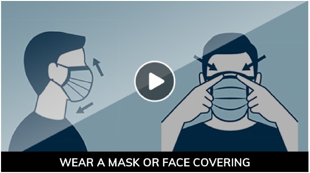 Prevent COVID-19: Wear a Cloth Face Covering