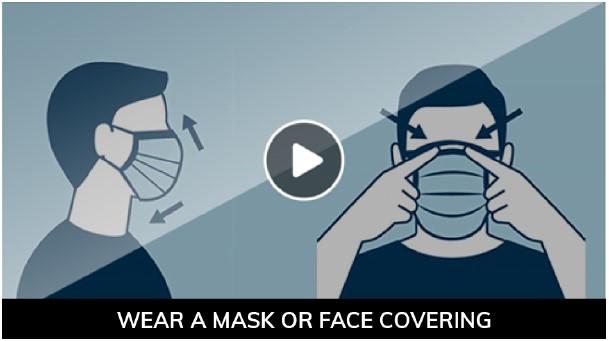 Prevent COVID-19: Wear a Cloth Face Covering