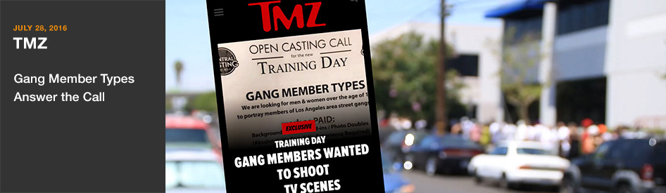 July 28, 2016 - TMZ - Gang Member Types Answer the Call