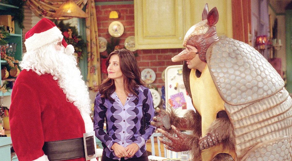 Friends did many Christmas episodes over 10 seasons