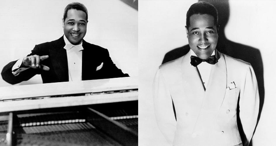 Fashinable photos of Duke Ellington.