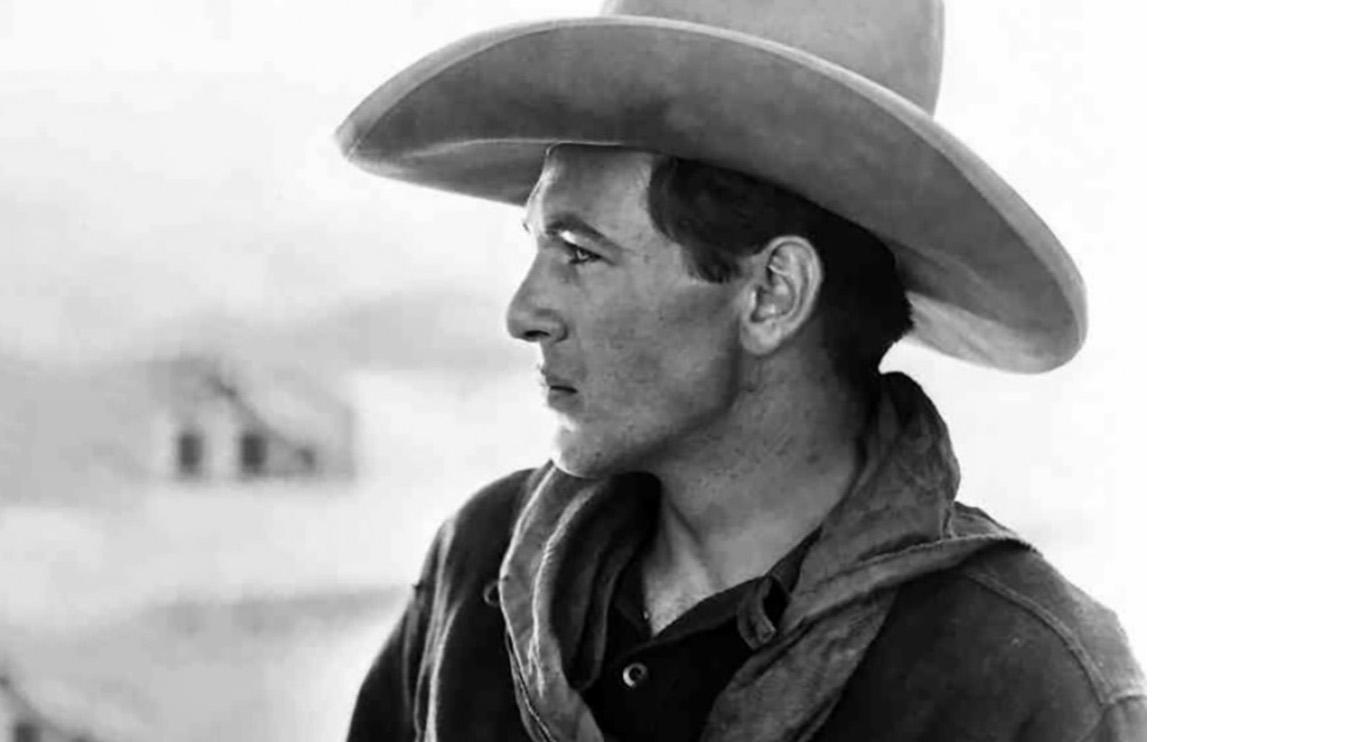 Gary Cooper, one of Central Casting's Hollywood legends