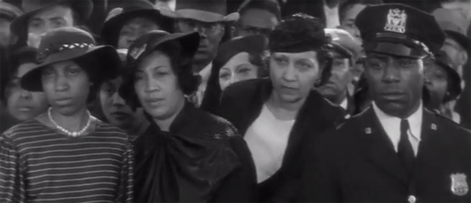 African American extras in Imitation of Life (1934)