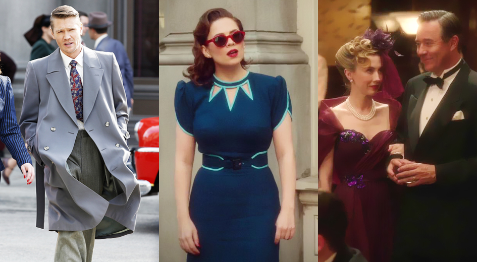 Late 1940s outfits in Agent Carter (ABC)