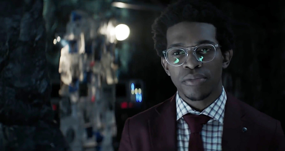 Camrus Johnson in one of this season's new shows (The CW)
