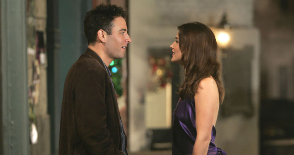 Josh Radnor and Cobie Smulders.