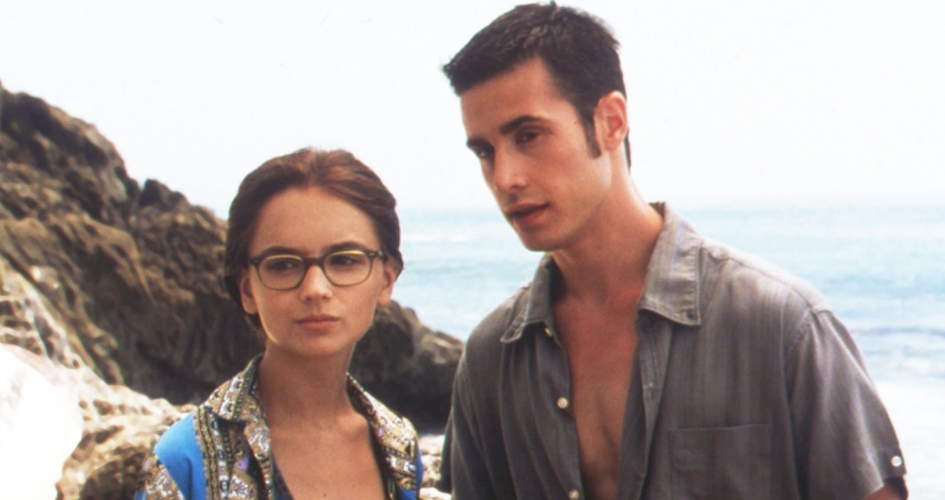Rachael Leigh Cook and Freddie Prinze Jr. in She's All That