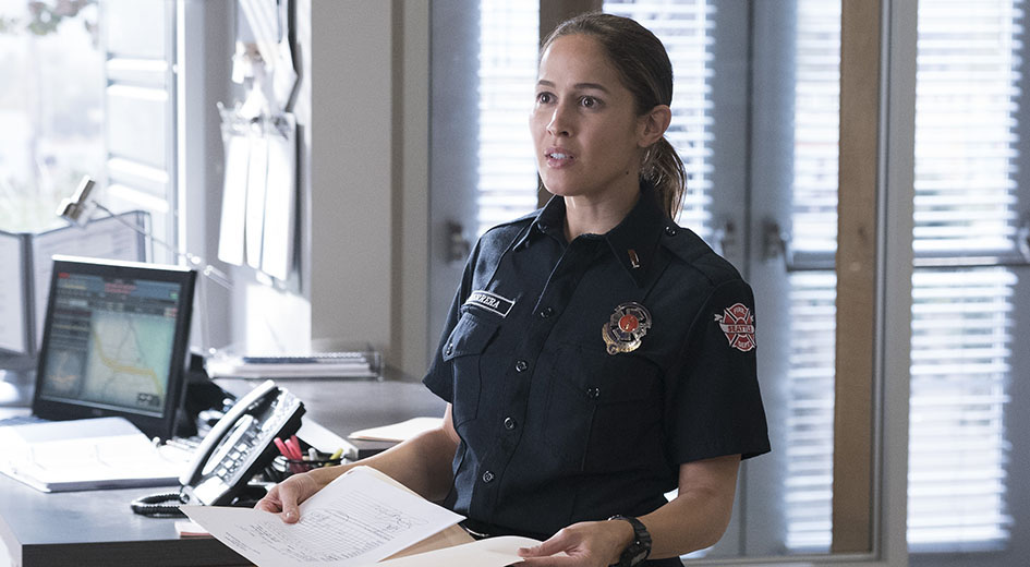 Jaina Lee Ortiz as Andy Herrera (ABC)