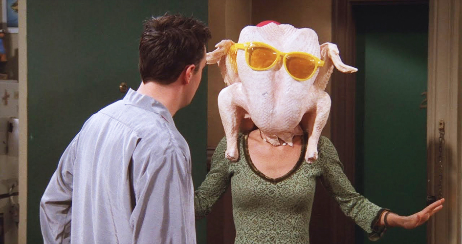 Friends aired multiple Thanksgiving episodes over 10 seasons